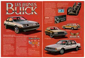 1984-BUICK-Skylark-Century-Estate-Vintage-Original-2-page-Print-AD-Turbo-Type-T