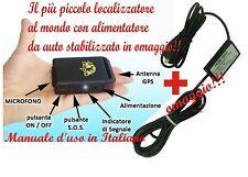 GPS LOCALIZZATORE TRACKER TK102-B TK 102-2 TK102 PRO slot SD CAVO  BATTERIA AUTO