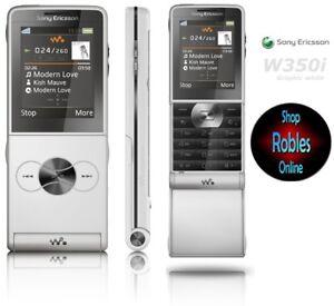Sony-Ericsson-W350i-White-Ohne-Simlock-4Band-1-3MP-Walkman-MP3-wie-NEU-OVP