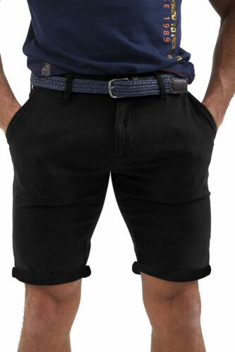 Pantaloncini Chino con Cintura da Uomo Cargo Combat Pantaloni in twill di fine cotone stretch MEZZA PANT