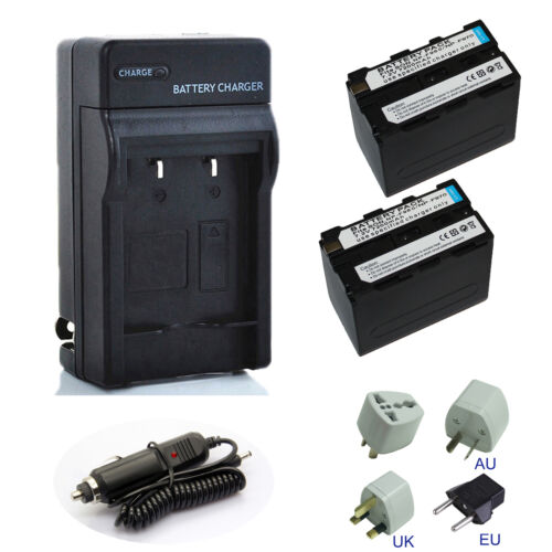 7200mAh Power Battery // Charger for Sony NP-F975 NP-F970 NP-F950 NP-F960
