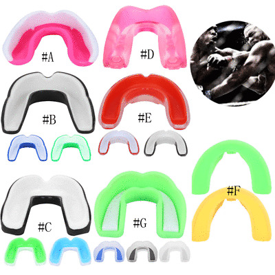 Sport Mouth Guard Teeth Taekwondo Boxing TOoth Mouthguards Protector Adult Kid