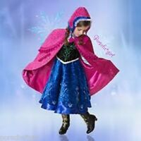 Disney Store Frozen Anna Limited Edition LE Costume 4 RARE SOLD OUT Boots Tiara