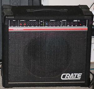 crate g80xl combo guitar amp amplifier celestion equipped vintage rare ebay. Black Bedroom Furniture Sets. Home Design Ideas