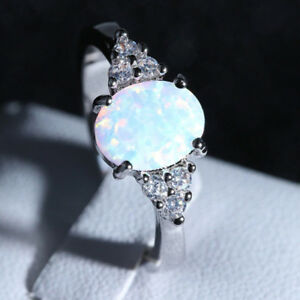 Fire-Opal-Ring-in-925-Genuine-Sterling-Silver-Gemstone-Jewelry-Ring-Size-6-7-8-9