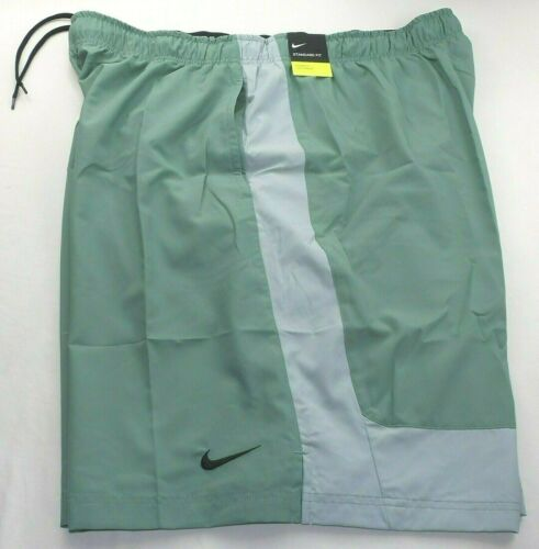 NIKE FLEX Men/'s Low Rise Shorts 3XLT Tall Workout Athletic Training Green Grey