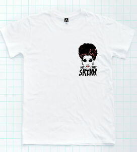10ccb5454 Image is loading Bianca-Del-Rio-Satan-T-shirt-Chest-Print-. Image not ...