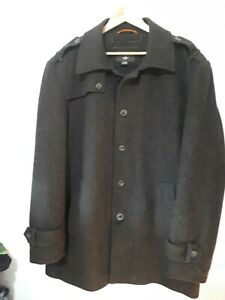 Docker-Shell-Wool-Interlining-Coat-SZ-Large-edition-with-Anchor-logo-Pocket-OutS