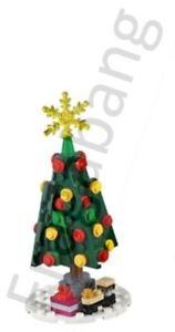 Albero Di Natale Lego.Lego 10263 Creator Villaggio Invernale Albero Di Natale Solo Suddivisi Da 10263 Ebay
