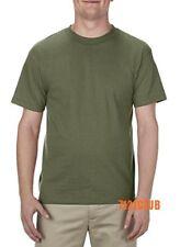 Alstyle Apparel AAA T Shirt 1301 Men s Plain Blank Short Sleeve T Shirts  S-5XL 6443ba9d8
