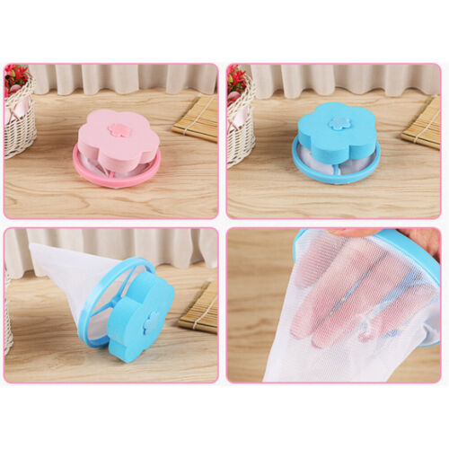 Washing Machine Laundry Filter Bag Mesh Pouch Home Floating Lint Hair Catcher
