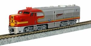 KATO-1764120-N-Scale-Alco-PA-1-Santa-Fe-Warbonnet-70L-AT-amp-SF-176-4120-NEW