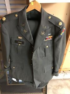 WW-2-Korea-US-Decorated-Army-Officer-039-s-Named-Uniform-jacket-2-Pair-Of-Pants