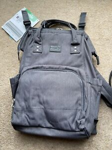 Mamia-Baby-Changing-Bag-Backpack-Was-17-99-Grey