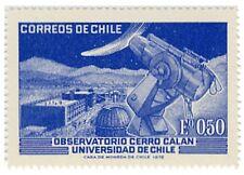 "Chile 1972 #819 Observatory ""Cerro Calan"" Universidad de Chile Space MNH"