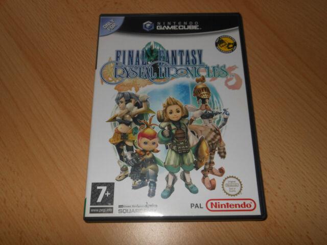 Nintendo Gamecube Final Fantasy Crystal Chronicles Mint Collectors Versión Pal
