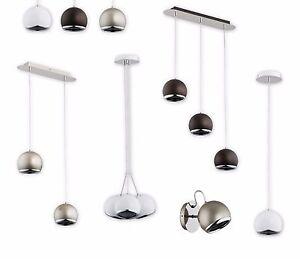 Pendant-Modern-Ceiling-Ball-Light-White-Silver-Wenge-Industrial-Retro-IBRA