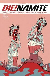 Die!Namite #4 Vincenzo Carratu Destroyed Dr Seuss Trade Variant Dynamite Comic