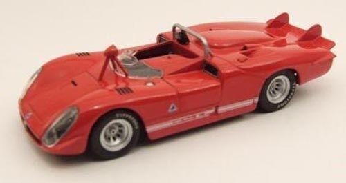 1ALFA ROMEO 33.3 SPIDER LE MANS 1970 PROVA red1 43 M4