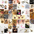 Fashion Charm jewelry Crystal vintage Chunky long Pendant sweater Chain Necklace