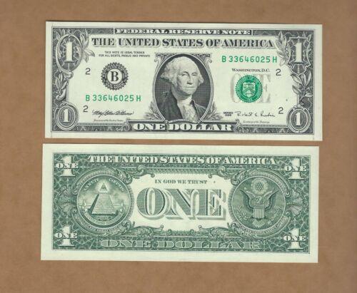 Not all Consecutive 1995 $1 Web Note BH Run  Run 6  6//8   Choice Unc
