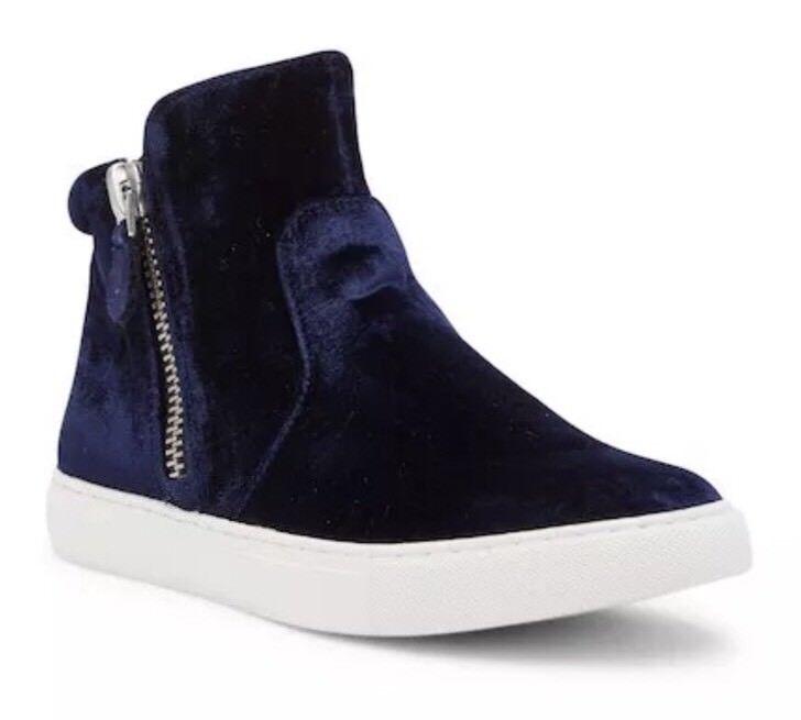 Gentle Souls by Kenneth Cole Carole Navy bluee bluee bluee Velvet Sneaker 3168 Size 9.5 M efdb11