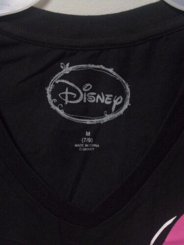 Minnie Mouse Black V-Neck Short Sleeves T-Shirt; Many Sizes!!