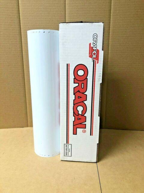 "Oracal 651 1 Roll 15"" x 10yd (30ft) White 010 Gloss Sign Vinyl"