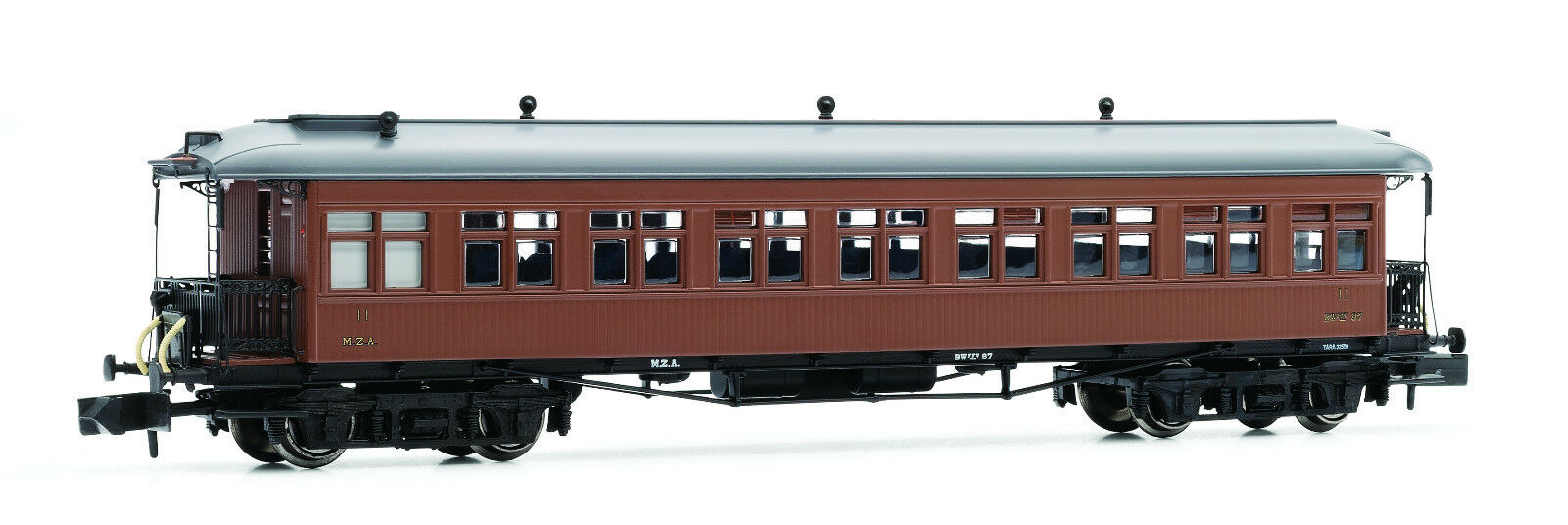 Arnold HN4232 Personenwagen Coche Costa 2 Kl. M.Z.A. BW 87 techo bajo