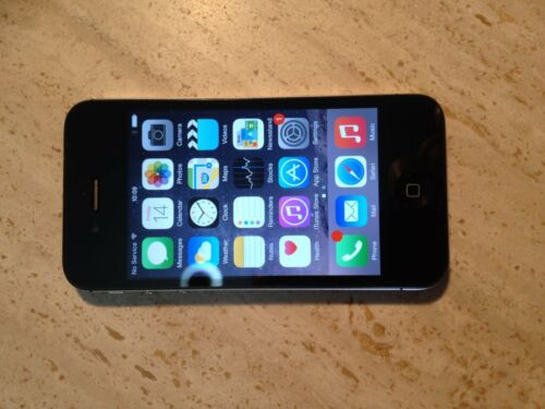 1 of 1 - Apple iPhone 4S - 16GB - Black Smartphone Unlocked  Model A1387/MD234X/A (1)