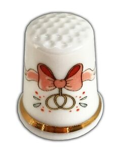 Personalised-Wedding-Bow-Fine-Bone-China-Thimble-Wedding-Anniversary-Engagement