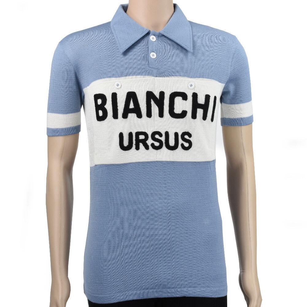 VV style Classics Bianchi Ursus vintage style VV merino wool jersey 955845