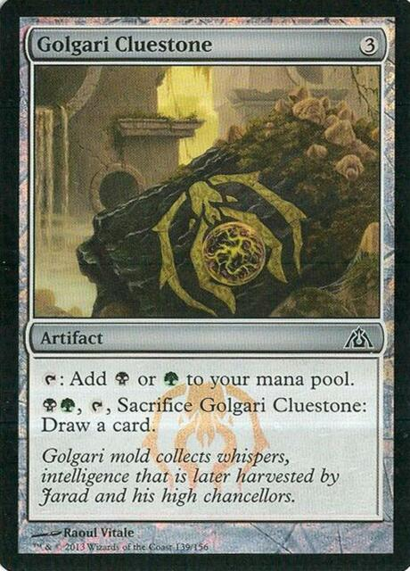 Gruul Cluestone FOIL Dragon/'s Maze NM Artifact Common MAGIC MTG CARD ABUGames