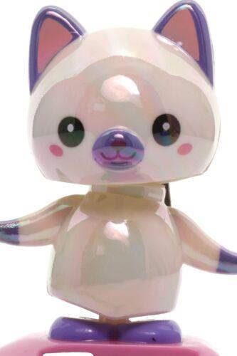 Solar Pearlescent White Cat Wobbler