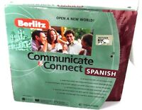 Berlitz Communicate & Connect Spanish 3 Cd-roms, 1 Audio Cd, Workbook & Headset