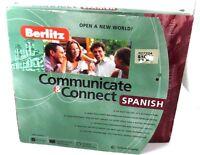 Berlitz Communicate & Connect Spanish 3 Cd-roms, 1 Audio Cd, Workbook & Headset