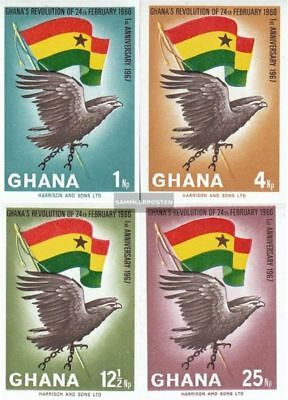 complete.issue. Unmounted Mint Genteel Ghana 283b I-286b I Never Hinged 1967 Revolut Buy One Give One