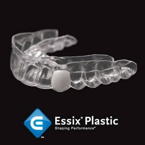 Details about Temporary Replacement (1) tooth in Crystal Clear Retainer,  for Upper OR Lower