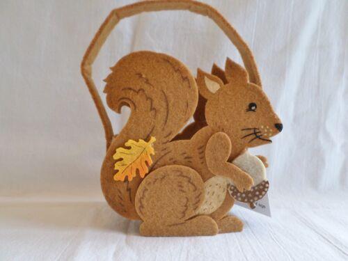 Filz Korb Wald Eichhörnchen Tasche Hochzeitsgeschenk Ostern Baby Dusche