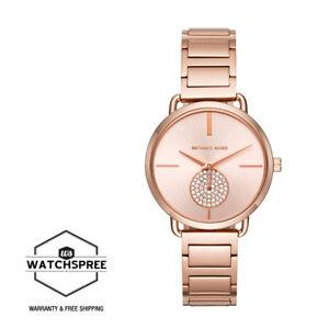 Michael-Kors-Ladies-039-Portia-Rose-Gold-Tone-Watch-MK3640