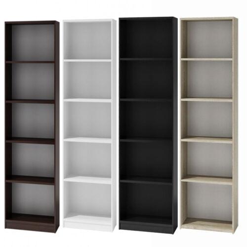 Bücherregal Regal Holzregal Standregal Wandregal Büroregal 182x40cm weiß