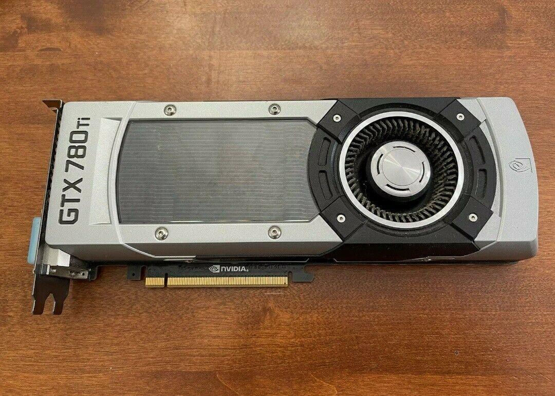 nVidia GeForce GTX 780 Ti Graphics Card Used