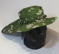 Russian Boonie Hat Neck Protection Detachable Tail Ripstop Berezka Pattern