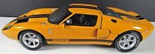 BEANSTALK 2002 ORANGE FORD GT CONCEPT  1/18 DIECAST CAR