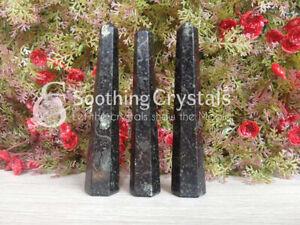 Black-Tourmaline-Crystal-Tower-Point-Natural-Obelisk-Reiki-and-Crystal-Grids