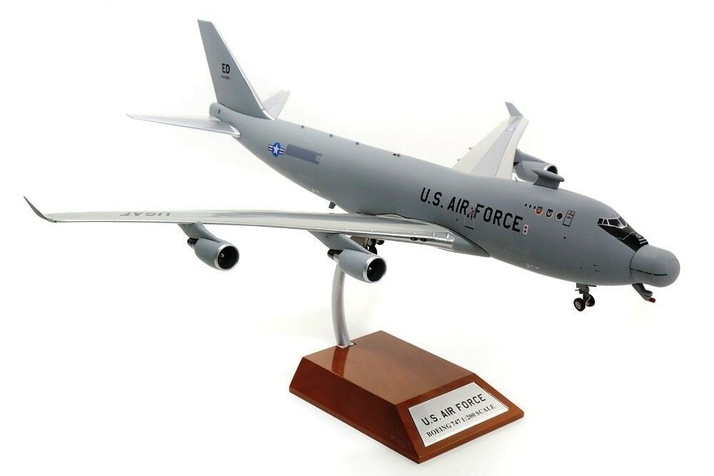 INFLIGHT 200 ifyal 0001 1 200 USA AIR FORCE YAL-1A (747-4G4F) 00-0001 con supporto