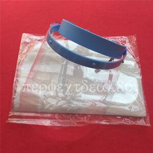 Dental Face Shield Plus 10pc Detachable Visors Protective Plastic Films Masks