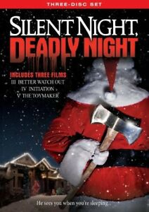 Silent-Night-Deadly-Night-Three-Disc-Set-New-DVD-O-Card-Packaging-Widescree