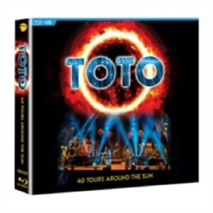 Details about Toto 40 Tours Around the Sun Fourty New Region B Blu-ray + CD
