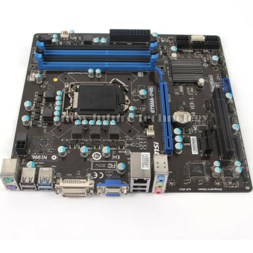 LGA 1155 Intel B75 Chipset MSI B75MA-P45 Motherboard MS-7798 DDR3 Memory